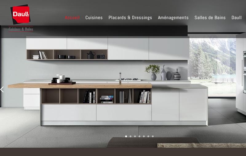 Le site internet de Concept Daull à Hochfelden