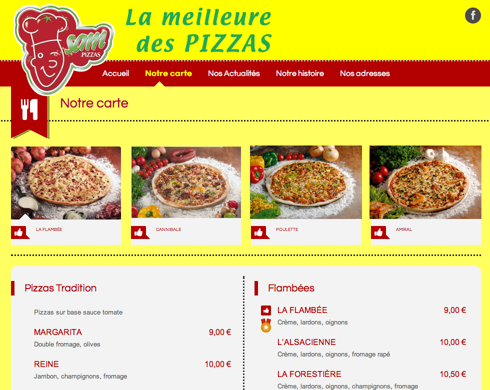 Site_Sam_Pizzas