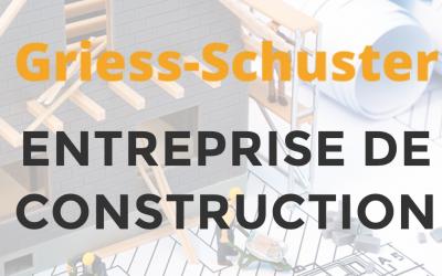 Site internet pour l'entreprise de construction Griess Shuster