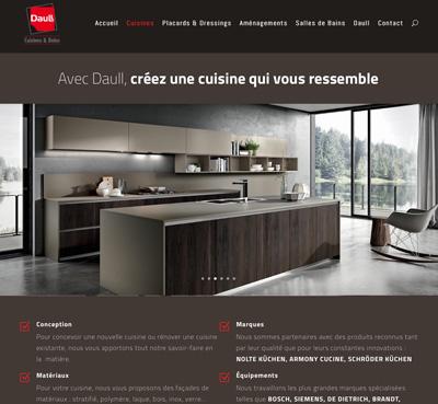 Site internet pour Concept Daull à Hochfelden