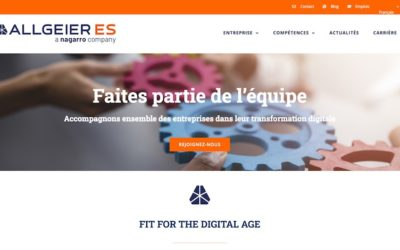 Allgeier confie sa version française à Octoprint