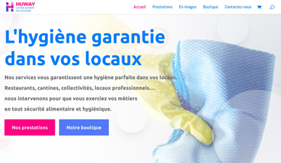 Refonte du site Huway Nettoyage Professionnel