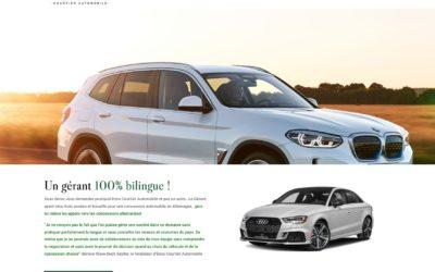 Création d'un site pour Enna Automobiles – Courtier automobiles