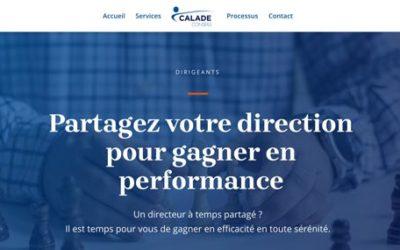 Création de site internet pour Calade Conseils