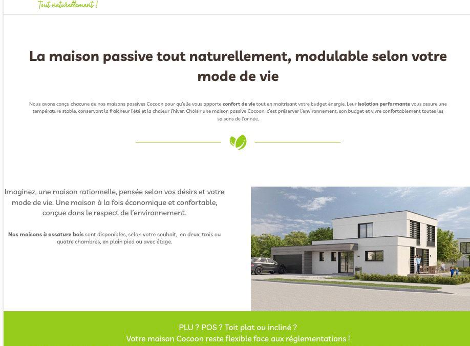 Création de marque et site internet : Maison Cocoon